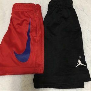 Bundle of 2 toddler athletic shorts 3T